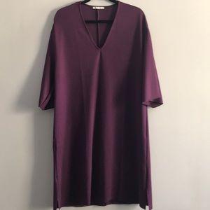 ZARA Plum Tunic Dress